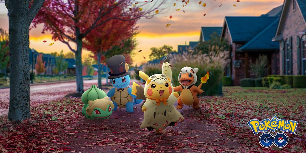 Anuncia Pokémon GO evento para Halloween
