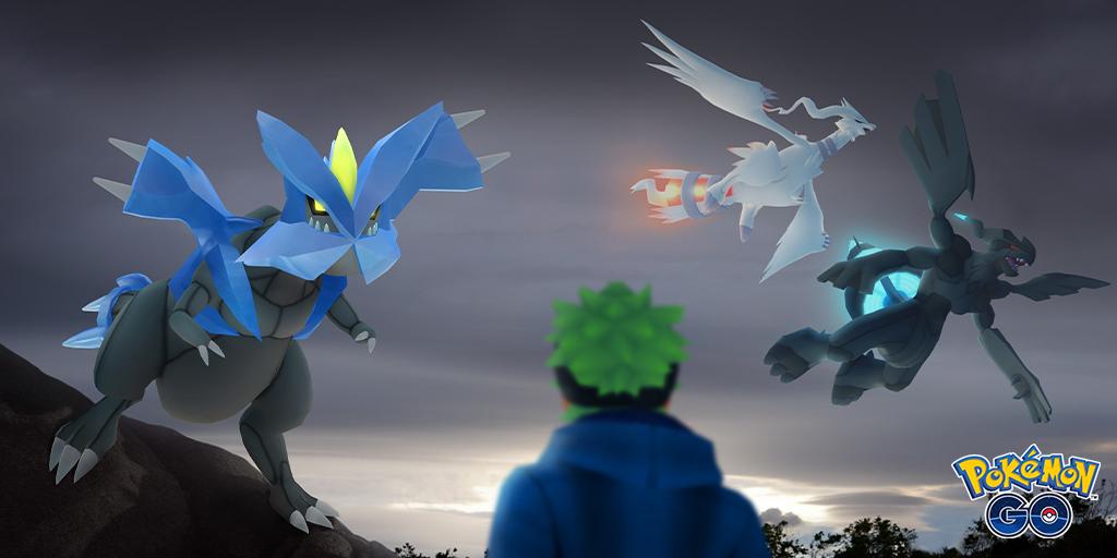 Reshiram, Zekrom y Kyurem harán su aparición pronto en Pokémon GO