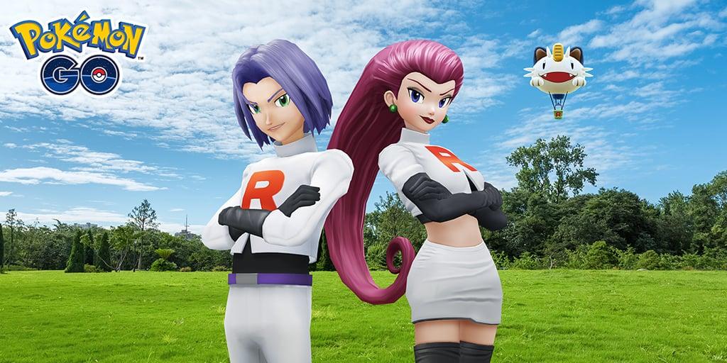 Jessie y James del Equipo Rocket llegan oficialmente a Pokémon GO